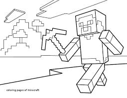 Minecraft Steve Coloring Pages Unique Coloring Pages Minecraft Steve