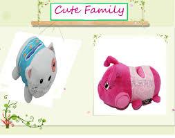 Stuffed Animal Display Stand Oem Custom 100d Cartoon Animal Plush Display Stand Plush Frog Phone 99