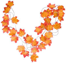 Fall Garlands With Lights Highever Fall Decor Fall Lights Decoraions Harvest Decor 2 Pack 20 Led 10 Feet Thanksgiving Christmas Decor Lighted Fall Garland Battery Powered