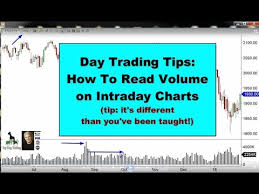 Chart Reading For Intraday Trading Day Trading Tips How To Read Volume On Intraday Charts Top Dog Trading