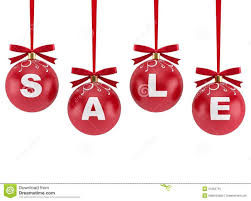 Christmas Decorations With The Word Sale Royalty Free Stock Photo with  regard to Christmas Decorations Sale