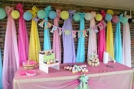 birthday party theme decorations