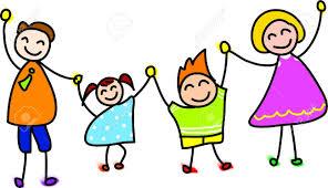 Risultati immagini per immagine clip art  famiglia felice