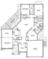 Narrow Lot Modern House Plans Interior Design - Modern house plan interior design