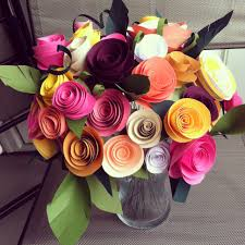 Paper Flower Arrangements Paper Flower Bouquet