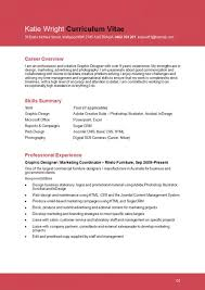 Graphic Designer Resume Sample Interesting Graphic Design Resume Examples Musiccityspiritsandcocktail
