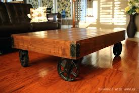 cart coffee table industrial factory cart coffee table restoration hardware furniture cart coffee table
