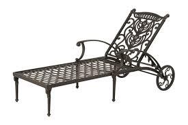 beautiful wrought iron chaise lounge