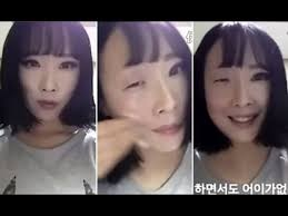 video of south korean removing makeup goes full power of makeup