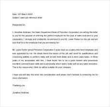 Employer Recommendation Letter Sample Employer Reference Letter Sample Doc Sample Customer