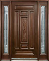 amazing decoration solid wood door entry door in stock single with 2 sidelites solid wood with