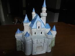 disney princess ceramic castle night