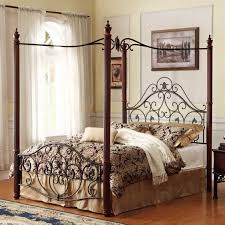 19TH C FRENCH IRON CANOPY BED  Queen  DecoristCanopy Iron Bed