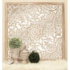 wooden carving wall decor