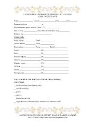Event Planner Contract Adorable Wedding Planner Contract Template Weddings Decorations Pinterest