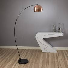 arco lighting. Lounge Retro Arco Standard / Floor Lamp Light/Lighting Copper Shades Lighting