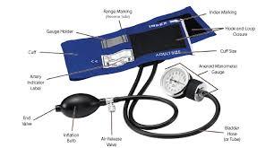 aneroid manometer. premium adult aneroid sphygmomanometer | blood pressure cuff manometer l