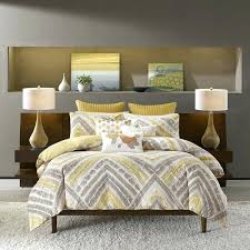 inkivy cornwall yellow duvet cover 3 piece set gray and yellow paisley duvet cover gray and