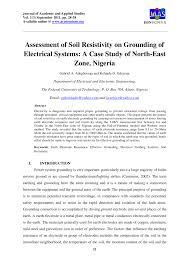 Earth Mat Design Calculation Pdf Pdf Assessment Of Soil Resistivity On Grounding Of