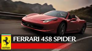 Ferrari 458 Spider - Official video - YouTube
