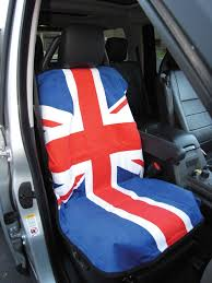 seat cover union jack