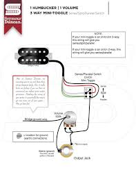 guitar wiring diagram 2 humbucker 1 volume 1 tone golkit com 2 Humbucker 1 Volume Wiring 1 pickup 1 volume 1 tone wiring diagram albumartinspiration wiring diagram 2 humbucker 2 volume 1 tone