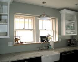above sink lighting. classic farmhouse style kitchen sink pendant light silver metal wire hanging design ideas above lighting