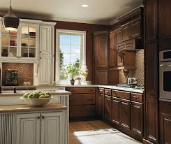 dark maple cabinets. Perfect Maple Dark Maple Kitchen Cabinets In Bison Finish With Ivory Accents For Cabinets A