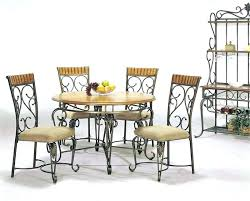 mainstays 5 piece dining set singular com mainstays 5 piece glass top metal dining set