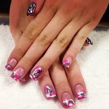 Awesome pink camo nails | Nails | Pinterest | Pink camo nails ...