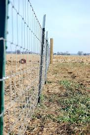 horse fence be sure to get woven wire