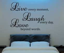 Live Laugh Love Wall Decal Vinyl Sticker Quote Art Living Room