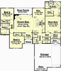 2100 square foot ranch house plans elegant 2100 square feet house plans unique 1900 sf house