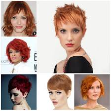 short red hairstyles 2017