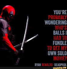 Deadpool Quotes Stunning Deadpool Funny Quotes Managementdynamics