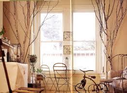 birch branch decoration home decorating ideas
