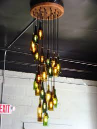 Brilliant Wine Bottles Chandelier 25 Best Ideas About Wine Bottle Chandelier  On Pinterest Bottle