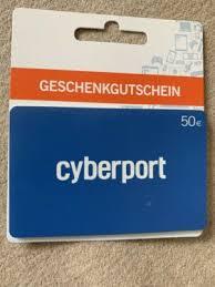 Gutschein, Cyberport 50€ für 40€ in Berlin - Wilmersdorf | eBay  Kleinanzeigen