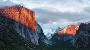 Wallpaper El Capitan, mountain ...