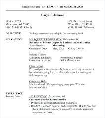 Resume With Internship Experience Examples Sample Resume For Internship Sample Resume For Internships Pattern