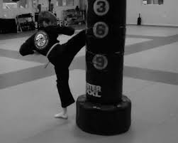 kid bag kicking workout makowski s martial arts fitness
