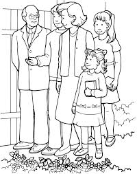 Small Picture Coloring Pages Of Families Going To Church Coloring Home
