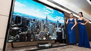 samsung tv 85 inch. this 110-inch monster is the world\u0027s largest ultra hdtv samsung tv 85 inch