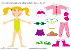 Small Picture Paper Dolls Coloring Pages Printables Educationcom