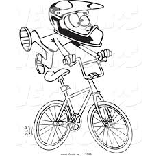 Drawn motorcycle bmx bicycle 12