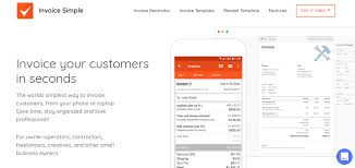 Invoice Simple Invoice Simple Pricing Reviews Alternatives And Competitor In 2019