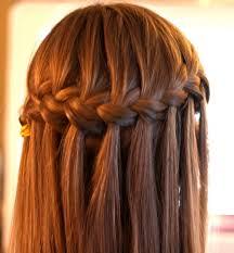 Hairstyle Waterfall Waterfall Braid Hairstyle Classic Waterfall Braid For Women 1215 by stevesalt.us