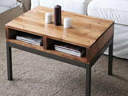 simple narrow coffee table