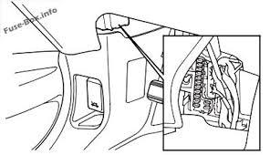 honda pilot 2003 2008 < fuse box diagram honda pilot 2003 2008 passenger s