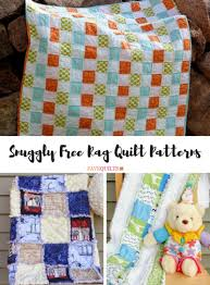 35+ Snuggly Free Rag Quilt Patterns | FaveQuilts.com & Snuggly Free Rag Quilt Patterns Adamdwight.com